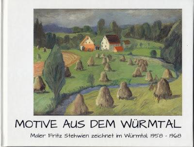 Motive aus dem Würmtal: Maler Fritz Stehwien zeichnet im Würmtal, 1958-1968 00001721