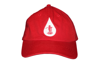 Country Boy Fishing (Red / White Logo)