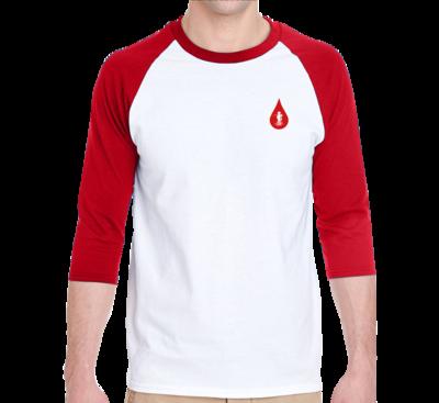 Country Boy Fishing (Baseball Shirt) Adult