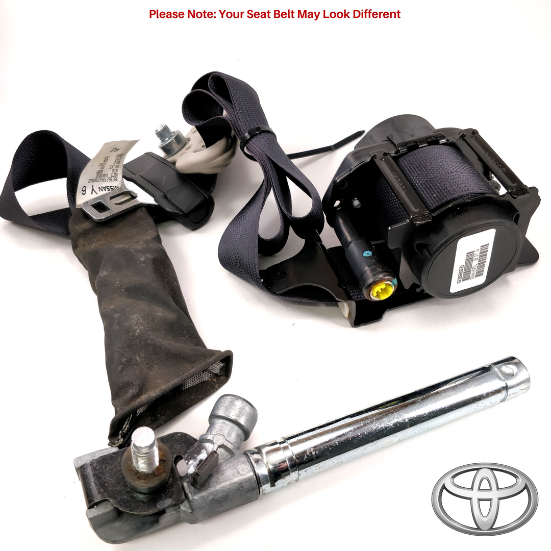 Toyota Seat Belt (Repair: Dual Stage)
