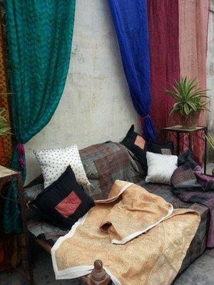 Silk and khadi Quilt- Sale