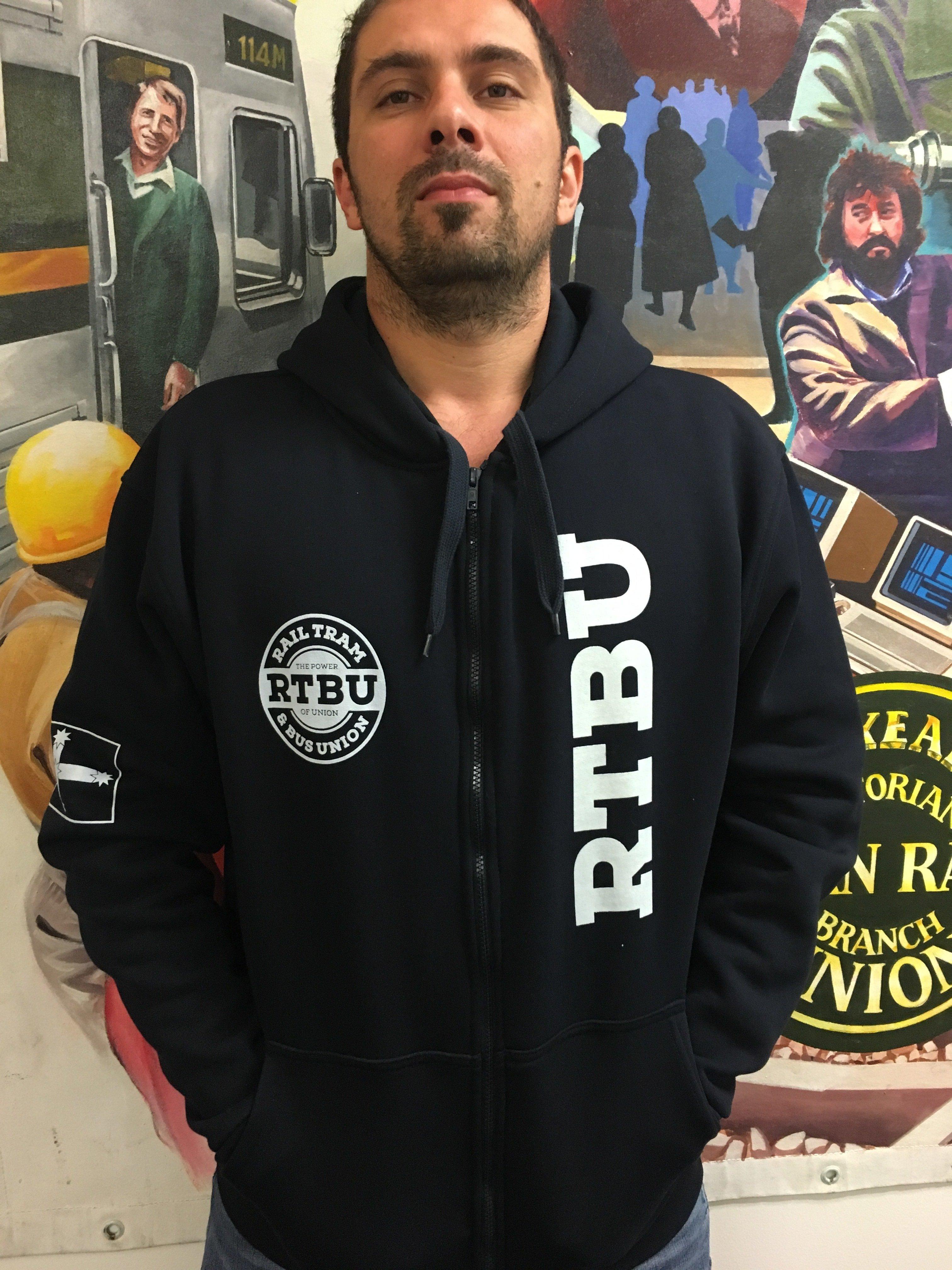 Black Zipper Hoodie 00003