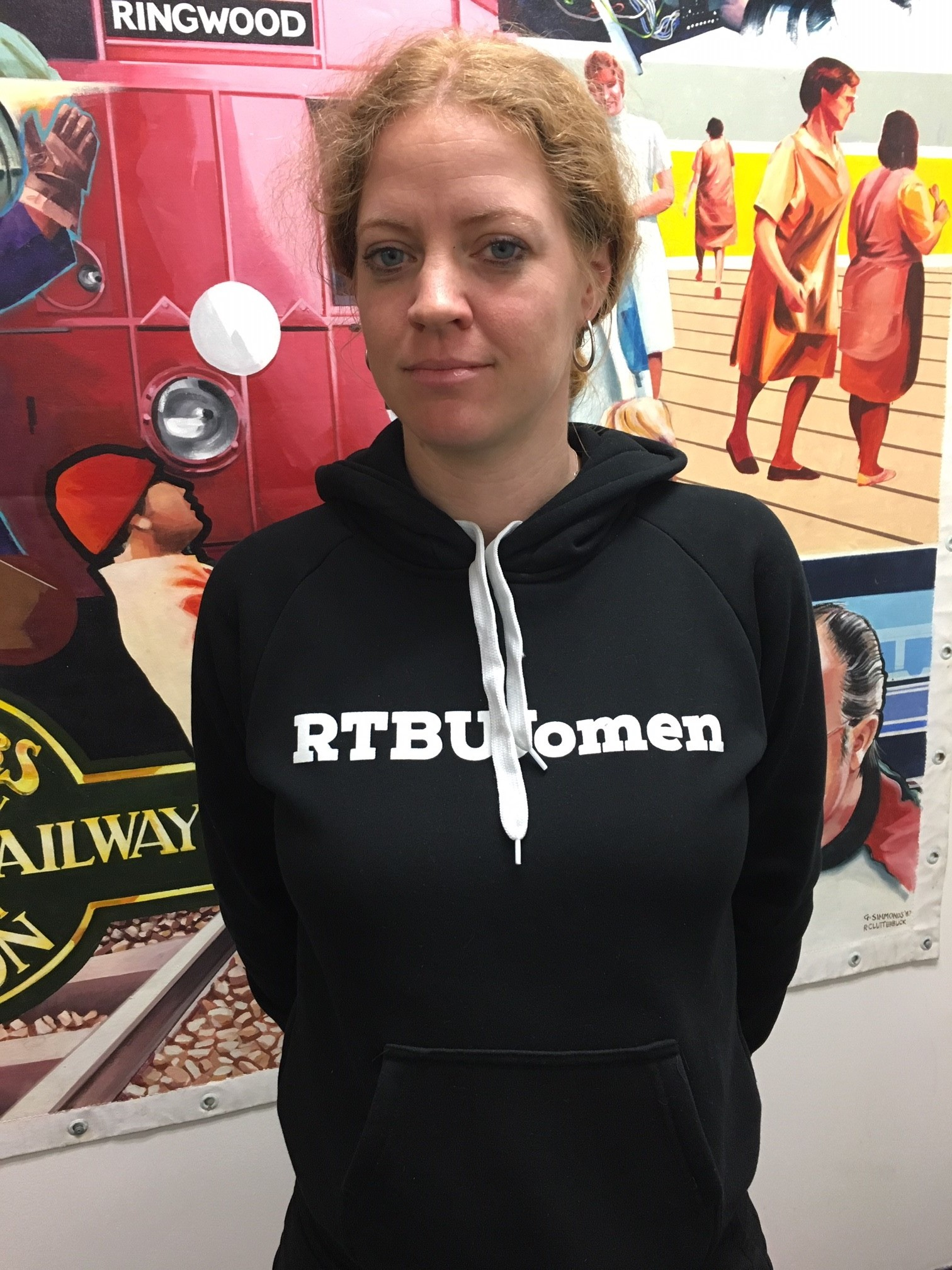 Black RTBU Women Pullover Hoodie 00014