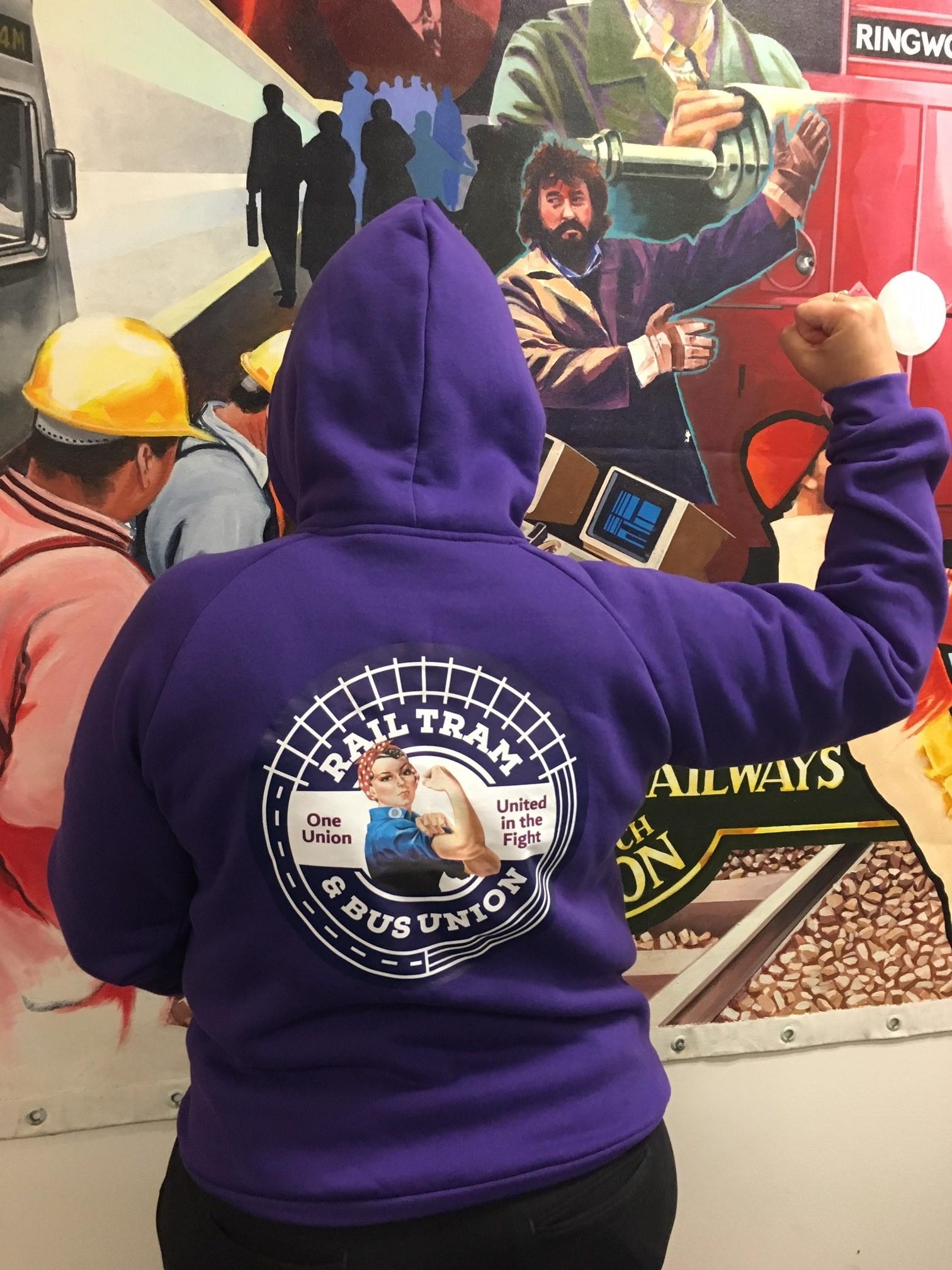 Purple RTBU Women Pullover Hoodie