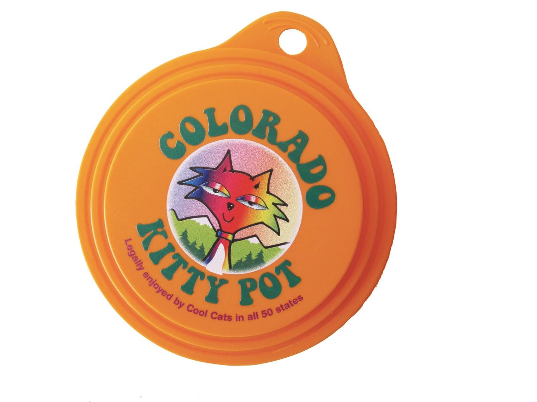 Colorado Kitty Pot Can Lids