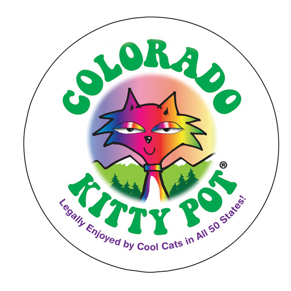 Colorado Kitty Pot Magnet