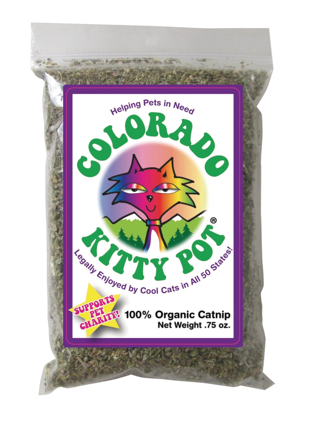 Colorado Kitty Pot .75 Oz.
