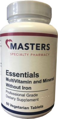 Essentials MultiVitamin & Mineral / No Iron