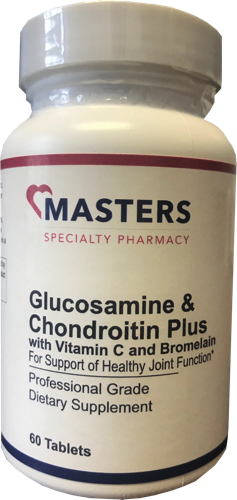 Glucosamine & Chondroitin Plus With Vitamin C and Bromelain