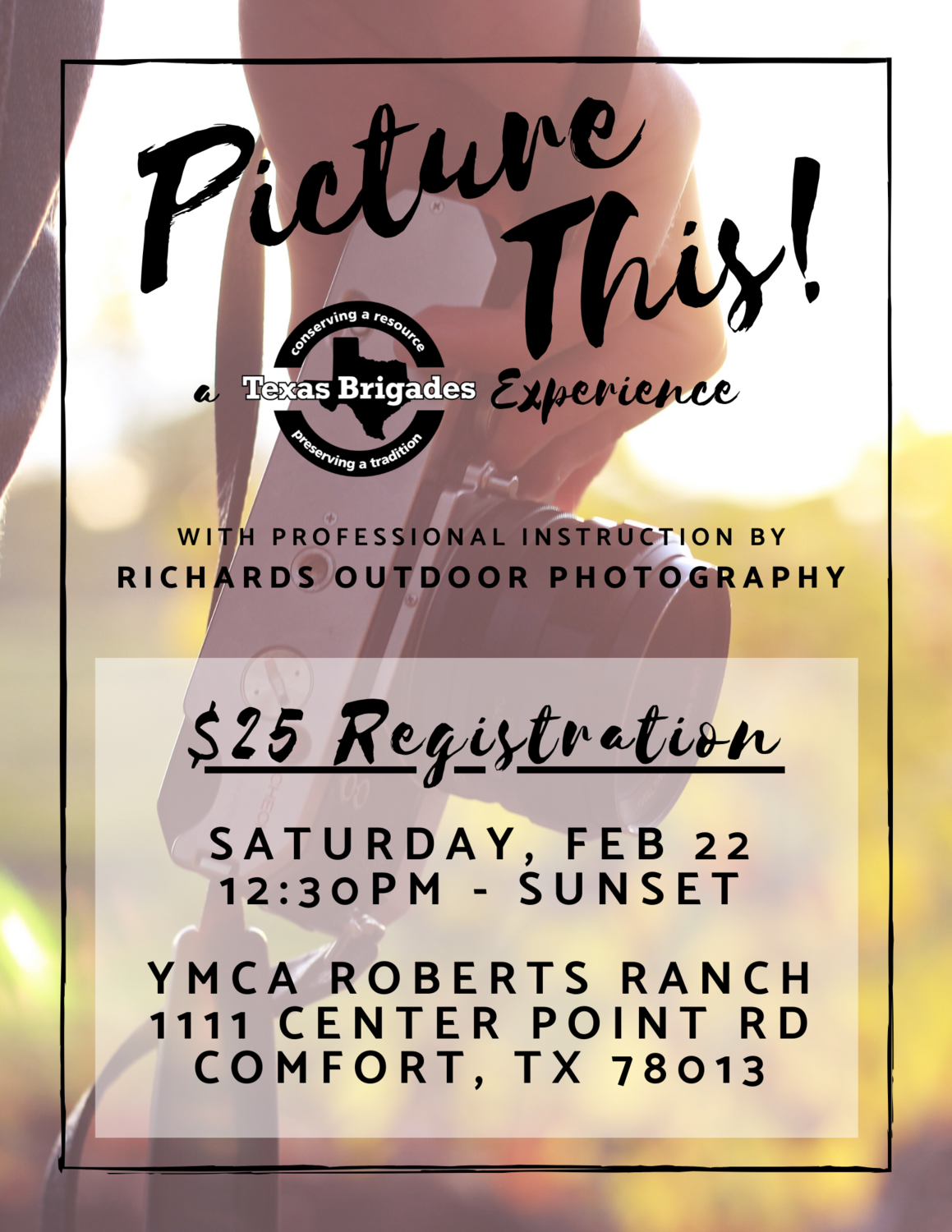 Picture This! Experience Registration