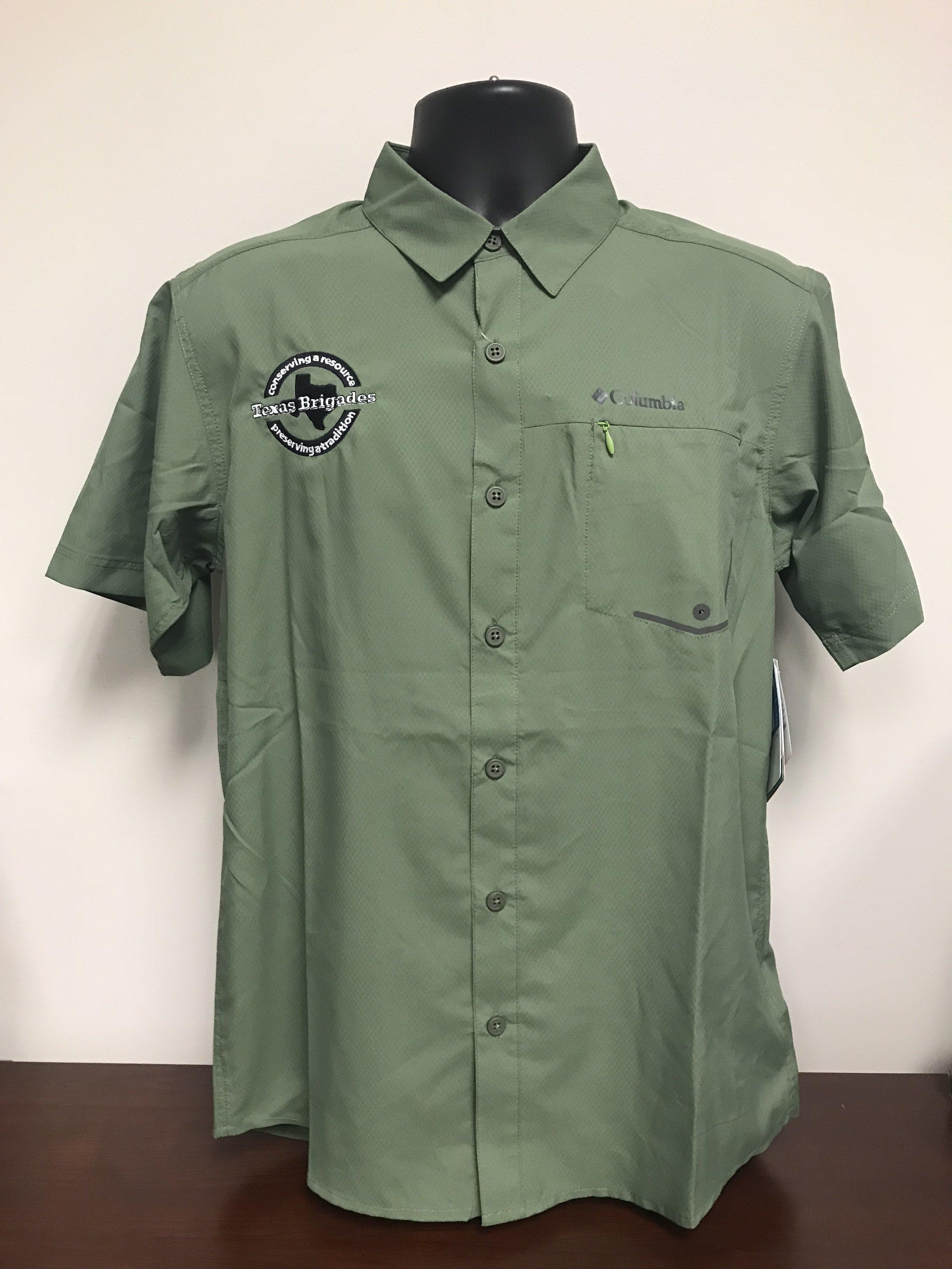 Men's Columbia Short Sleeve Shirt (SMALL) 00010