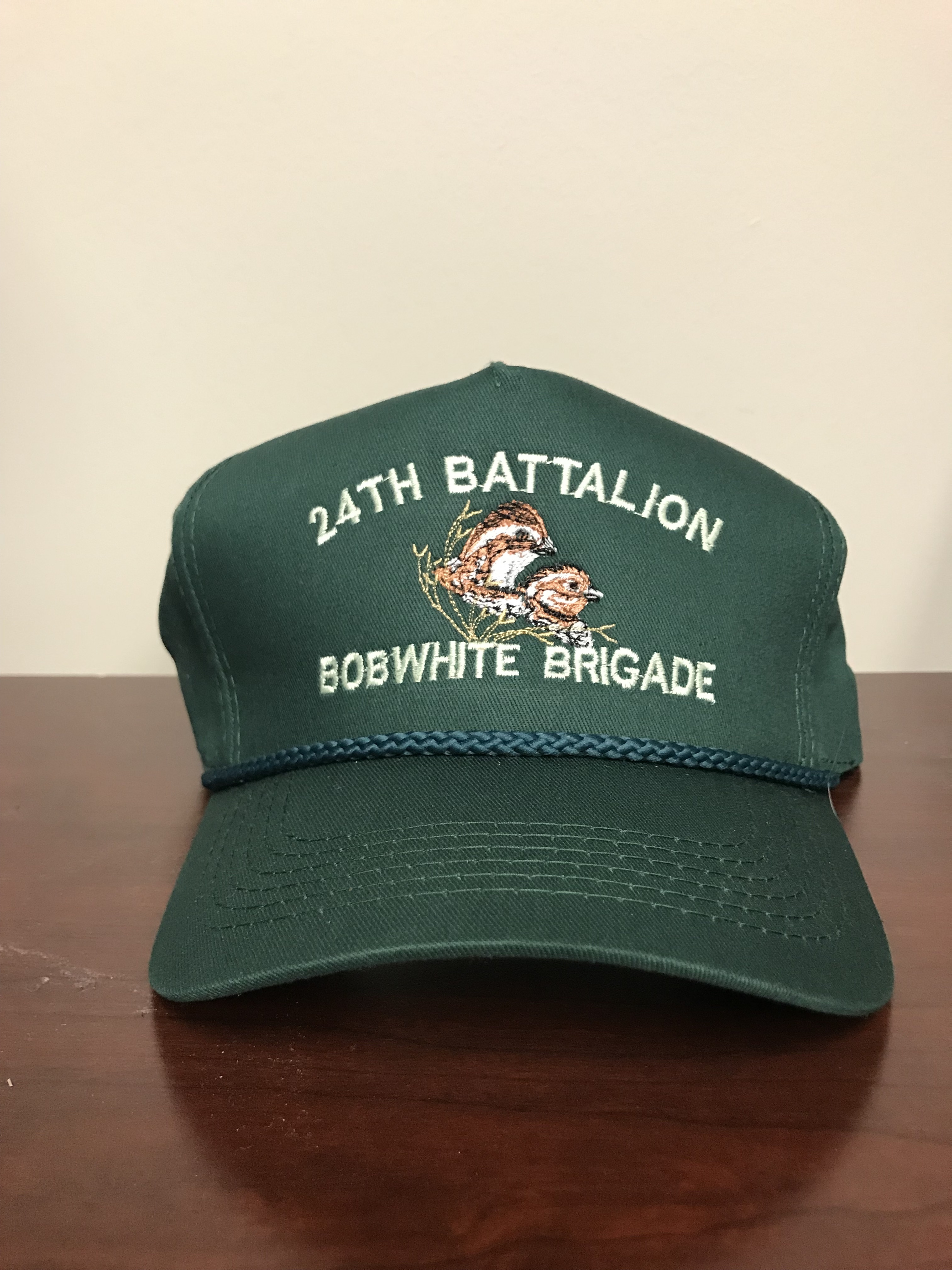 Rolling Plains Bobwhite Brigade 24th Battalion Captain's Hat 00029
