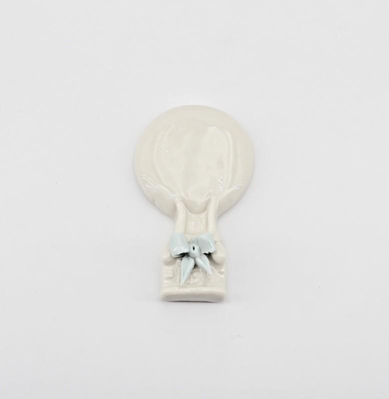 Bomboniera mongolfiera con fiocco cimabue  *prodotto artigianale* Pz.1
