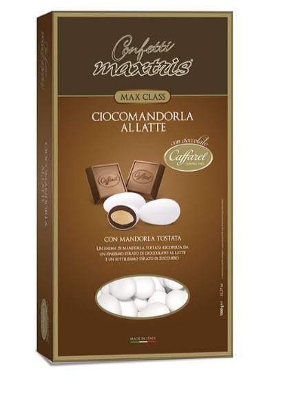 Maxtris Caffarel Ciocomandorla Latte