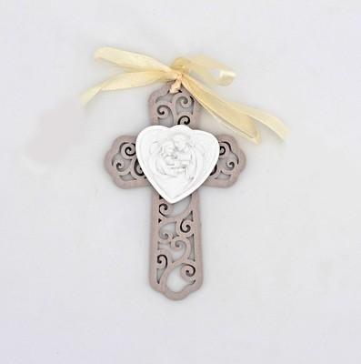 Bomboniera croce in legno confezione Pz. 1