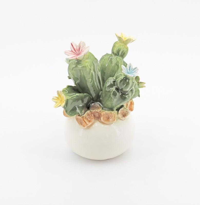 Bomboniera cactus medio modigliani *prodotto artigianale* Pz. 1