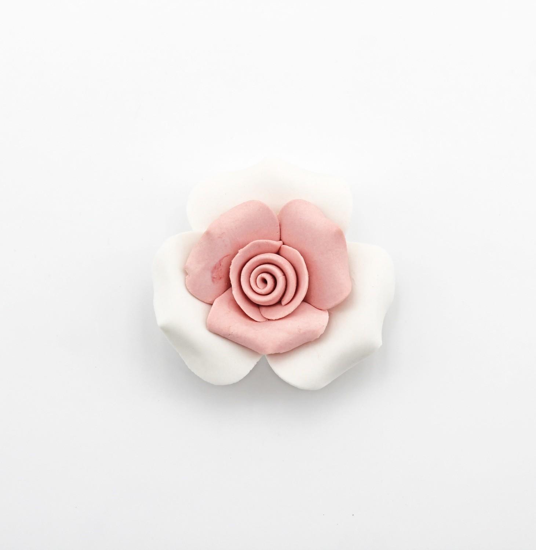 Bomboniera rosa bisquet Pz. 1