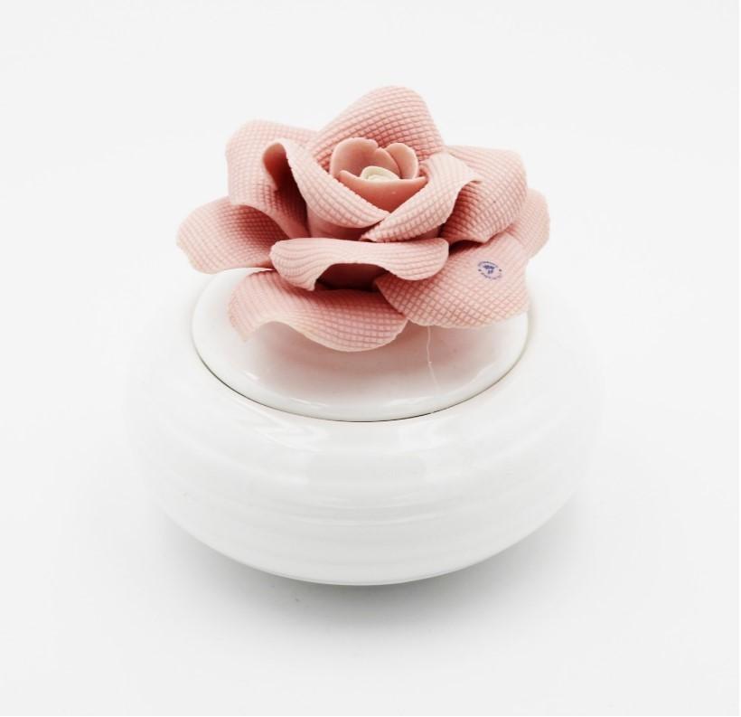 Bomboniera Ilary Queen  profumatore rosa Pz.1