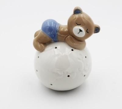 Bomboniera Ilary Queen orso con mappamondo led Pz.1