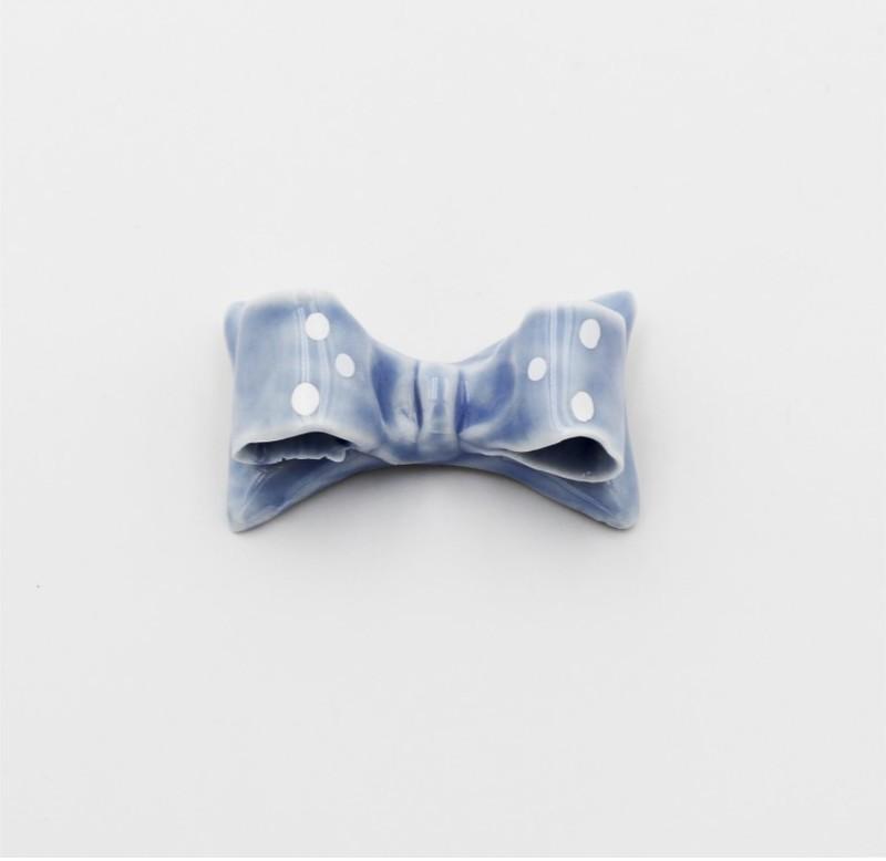 Bomboniera fiocco magnete celeste Pz. 12
