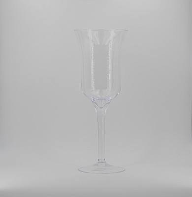 Calice cilindrico in vetro  Pz.1