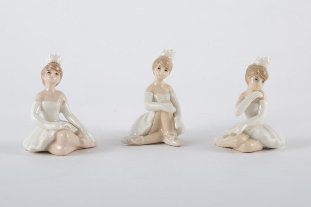 Bomboniera in porcellana principessa Pz. 3