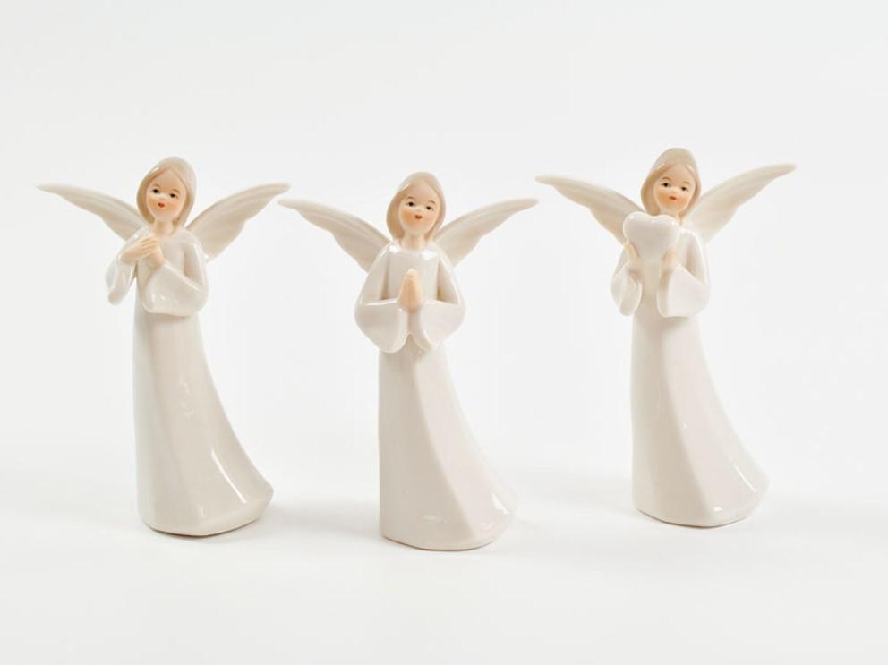Bomboniera in porcellana angelo Pz. 3