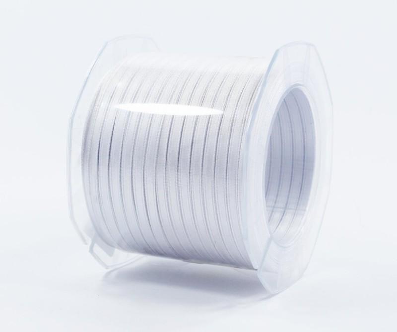 Furlanis nastro di raso bianco colore 13 mm.3  Mt.100