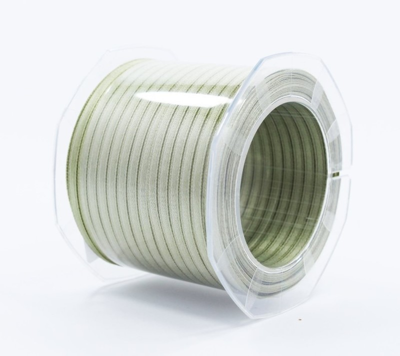 Furlanis nastro di raso verde salvia colore 15 mm.3  Mt.100