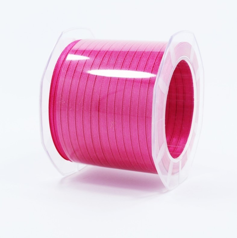 Furlanis nastro di raso fuxia scuro colore 26 mm.3  Mt.100