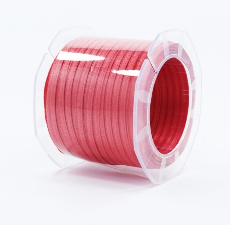 Furlanis nastro di raso rosa corallo scuro colore 481 mm.3  Mt.100
