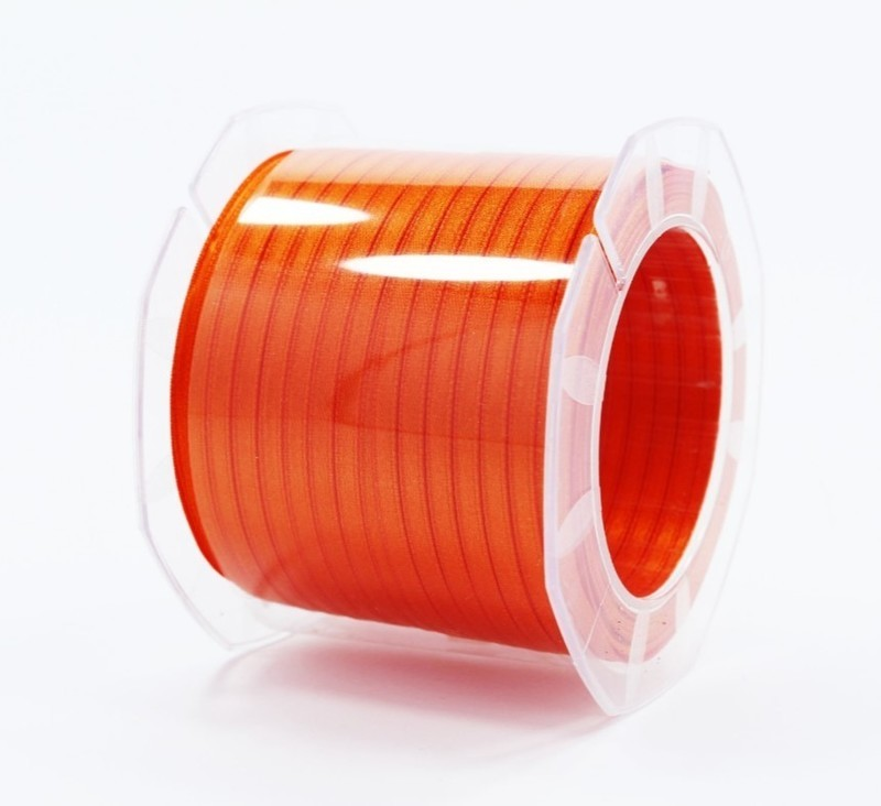 Furlanis nastro di raso arancio scuro colore 40 mm.3  Mt.100