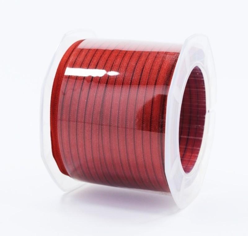 Furlanis nastro di raso mattone colore 48 mm.3  Mt.100