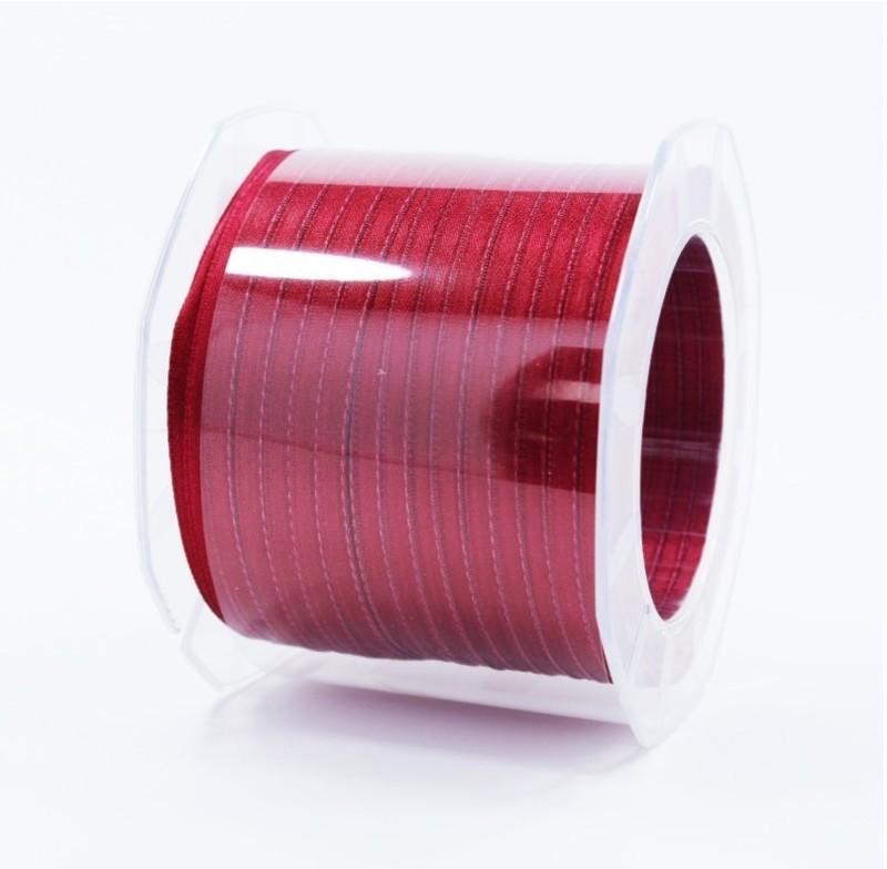 Furlanis nastro di raso vinaccia colore 1226 mm.3  Mt.100