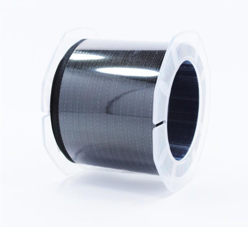 Furlanis nastro di raso nero colore 33 mm.3  Mt.100