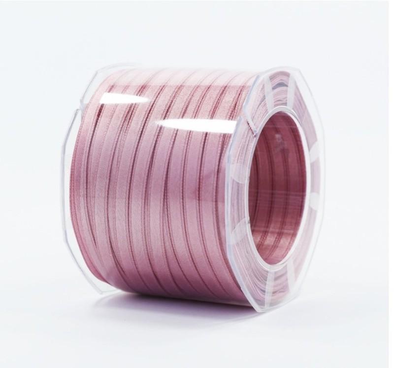 Furlanis nastro di raso rosa antico scuro colore 37 mm.6 Mt.100