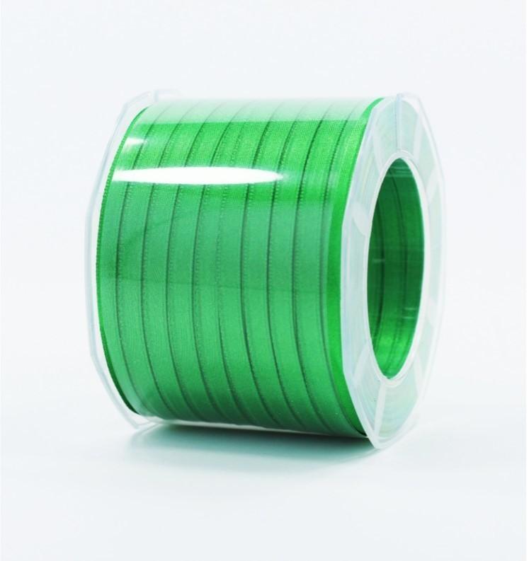 Furlanis nastro di raso verde scuro colore 32 mm.6 Mt.100