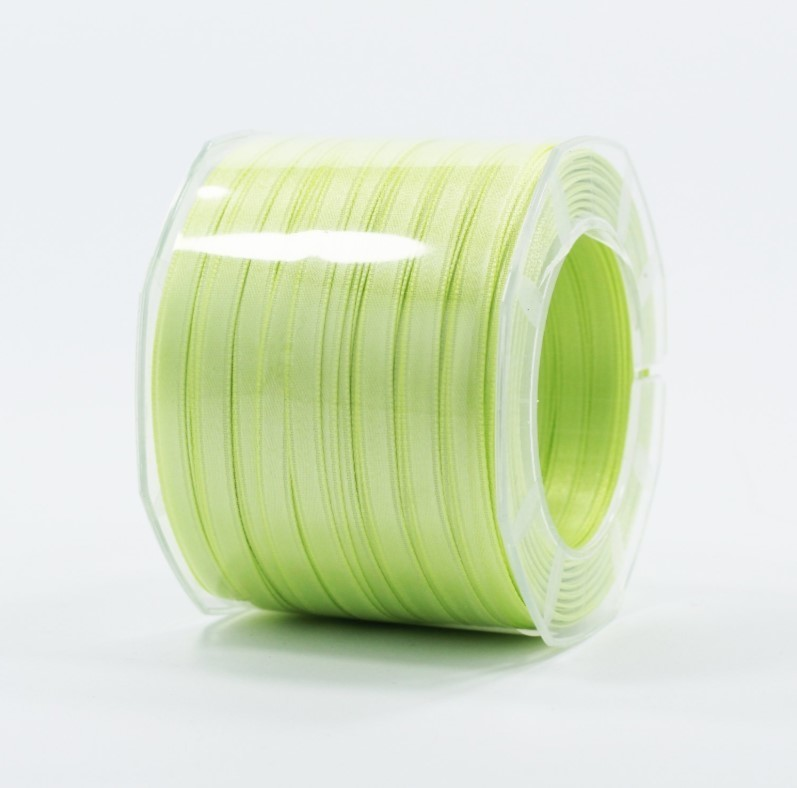 Furlanis nastro di raso verde chiaro colore 119 mm.6 Mt.100