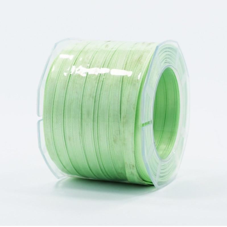 Furlanis nastro di raso verde menta colore 549 mm.6 Mt.100