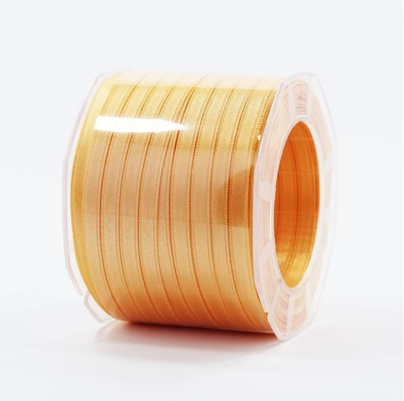Furlanis nastro di raso arancio chiaro colore 113 mm.6 Mt.100