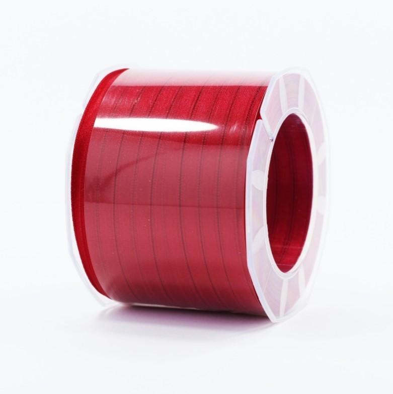 Furlanis nastro di raso rosso scuro colore 46 mm.6 Mt.100