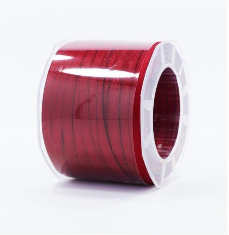 Furlanis nastro di raso vinaccia colore 1226 mm.6 Mt.100