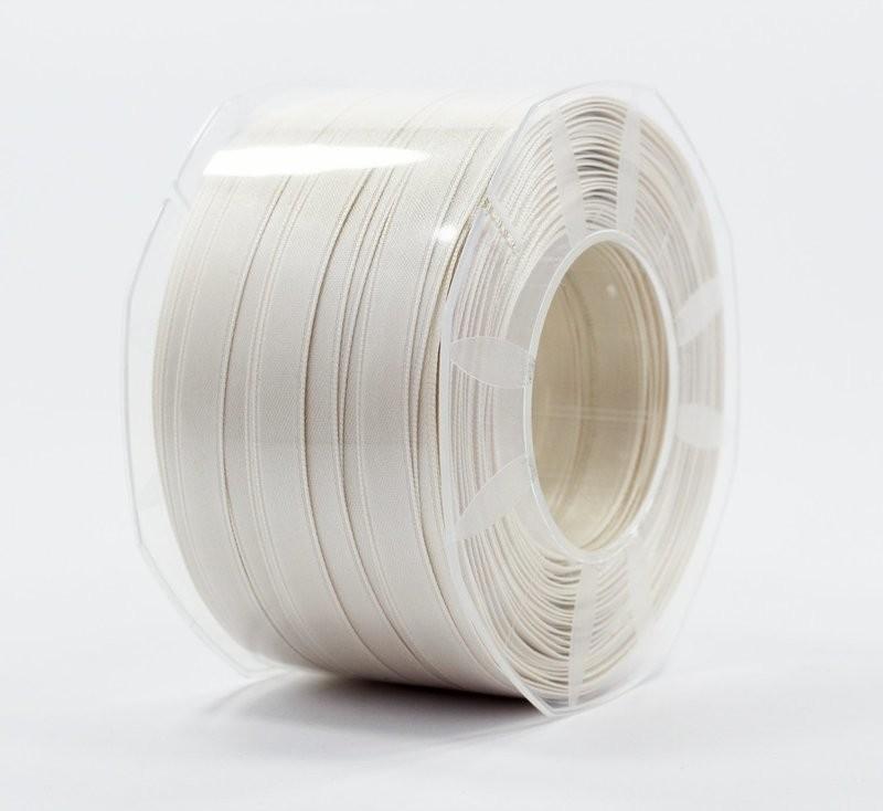 Furlanis nastro di raso avorio colore 35 mm.10 Mt.100