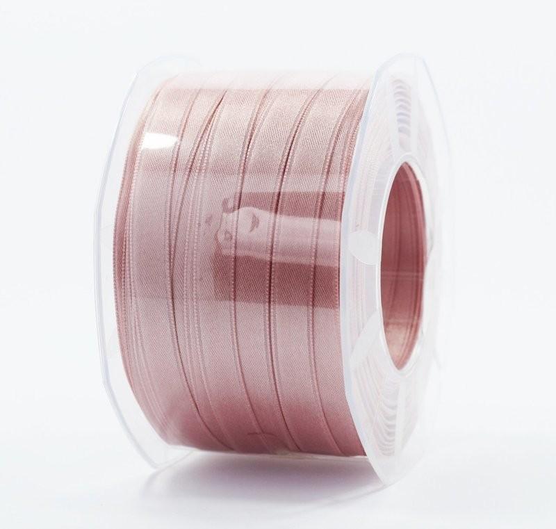 Furlanis nastro di raso rosa antico chiaro colore 552 mm.10 Mt.100
