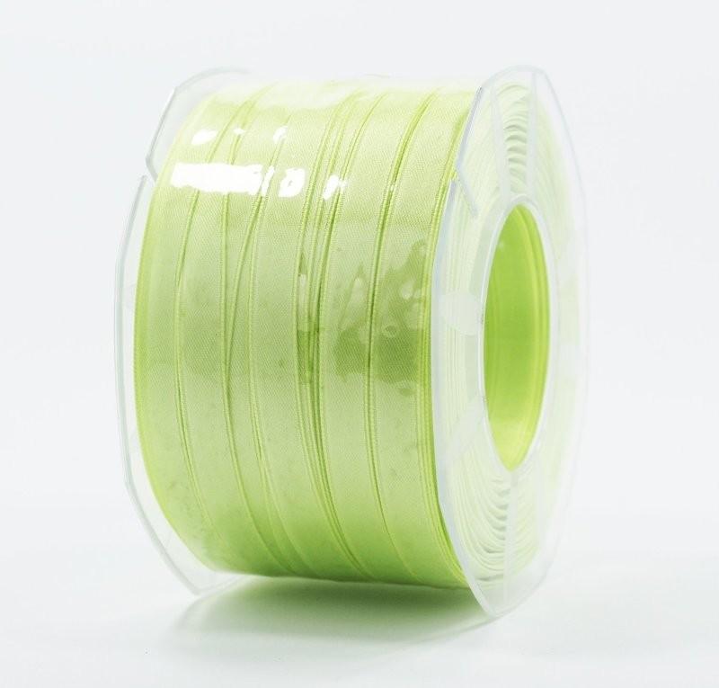 Furlanis nastro di raso verde chiaro colore 119 mm.10 Mt.100