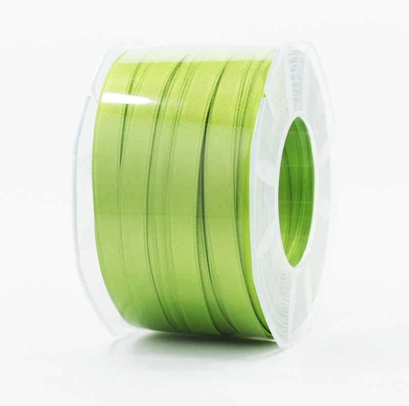 Furlanis nastro di raso verde mela  colore 139 mm.10 Mt.100