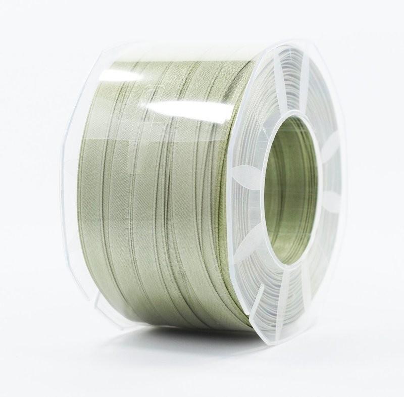 Furlanis nastro di raso verde salvia colore 15 mm.10 Mt.100