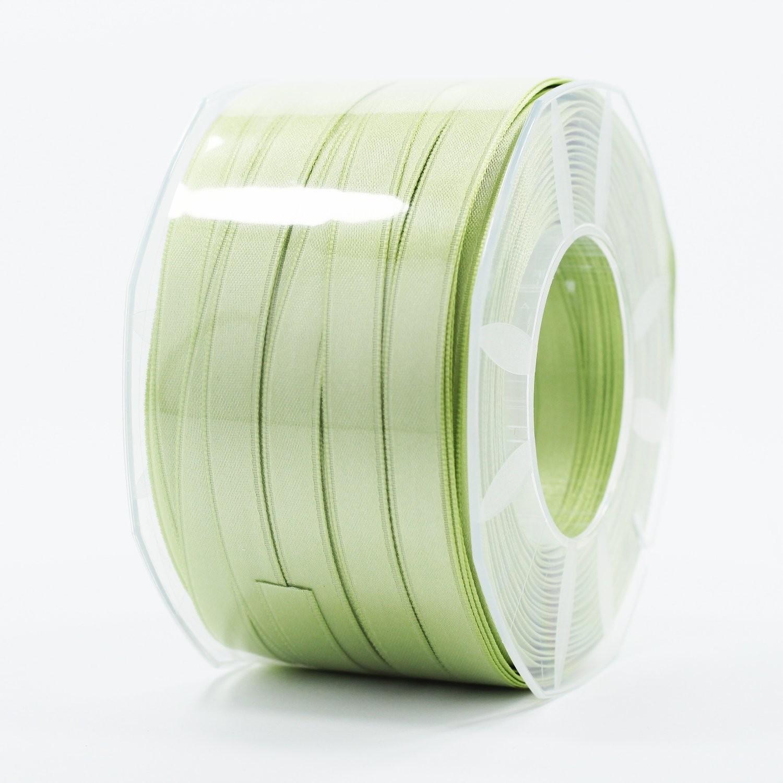 Furlanis nastro di raso verde medio colore 7 mm.10 Mt.100