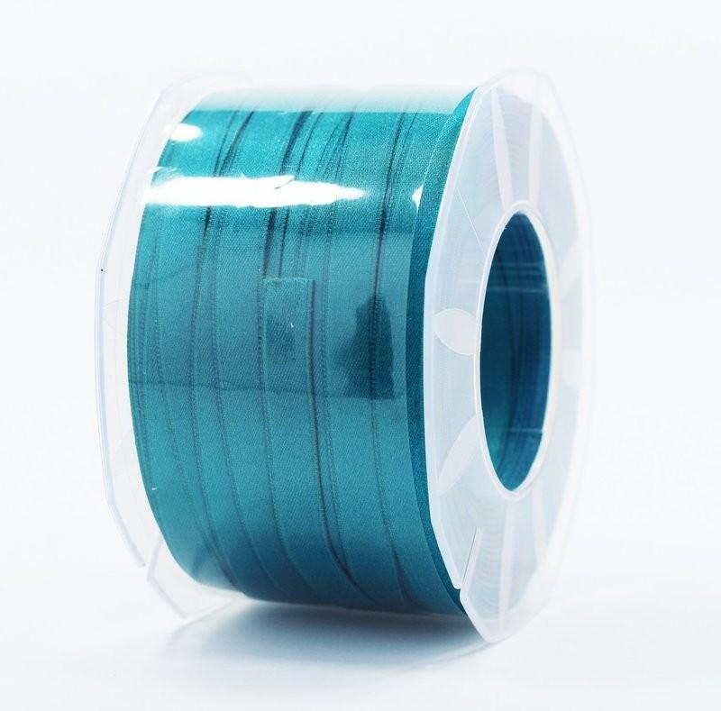 Furlanis nastro di raso petrolio colore 65 mm.10 Mt.100
