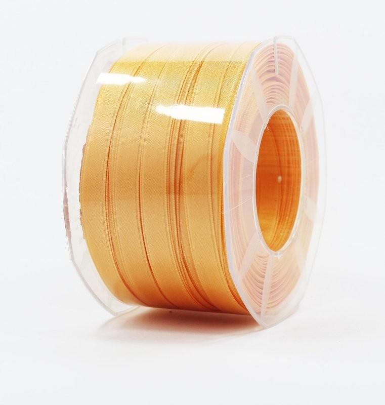 Furlanis nastro di raso arancio chiaro colore 113 mm.10 Mt.100
